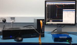 Simple U.2 test setup with a Quarch PPM